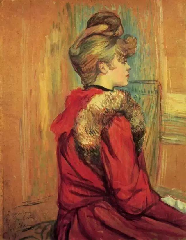 法国贵族,自幼残疾,年仅37岁,后印象派画家罗特列克插图73