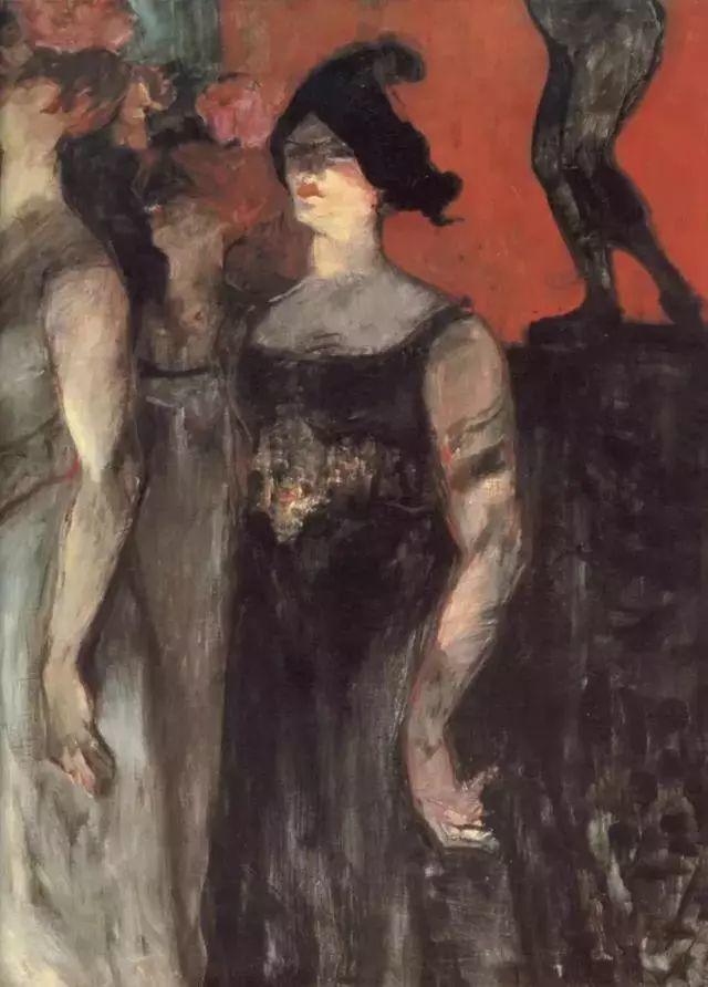 法国贵族,自幼残疾,年仅37岁,后印象派画家罗特列克插图74