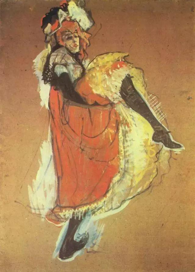 法国贵族,自幼残疾,年仅37岁,后印象派画家罗特列克插图78