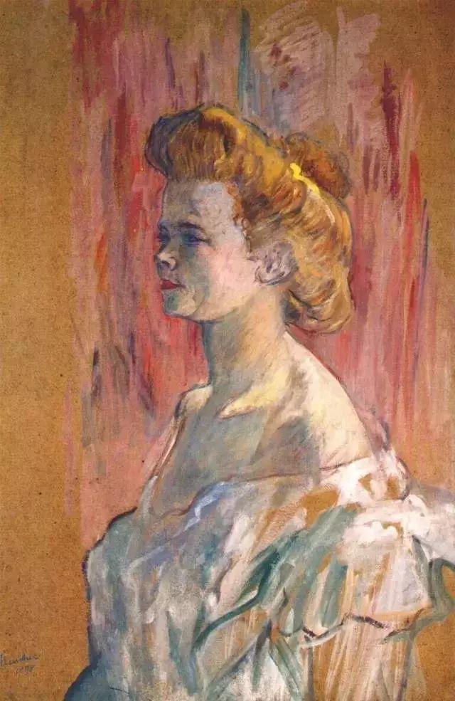 法国贵族,自幼残疾,年仅37岁,后印象派画家罗特列克插图79