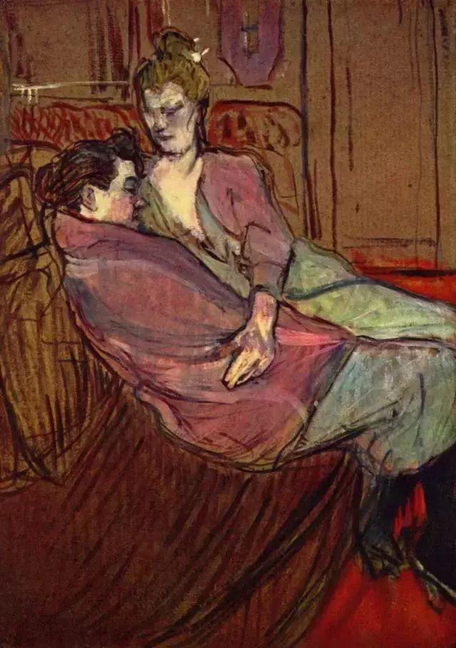 法国贵族,自幼残疾,年仅37岁,后印象派画家罗特列克插图81