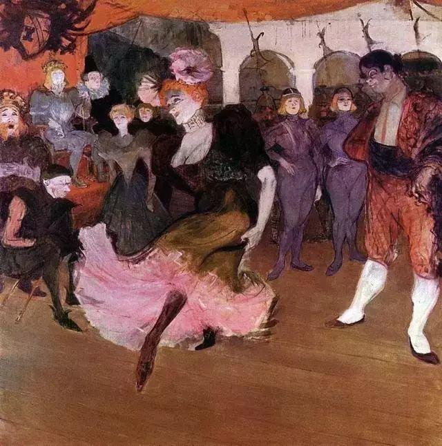 法国贵族,自幼残疾,年仅37岁,后印象派画家罗特列克插图82