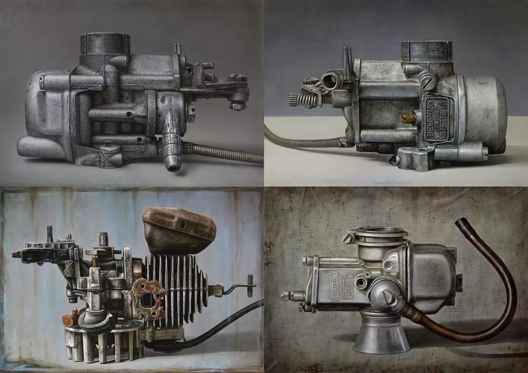 重金属质感满满 意大利画家Gioacchino Passini 三插图1