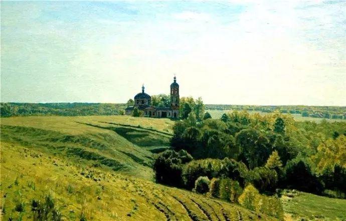 风景油画 俄罗斯画家莫克申·尤里插图17