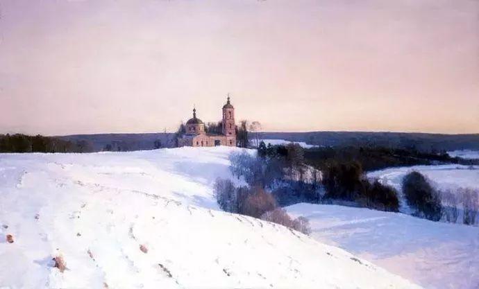 风景油画 俄罗斯画家莫克申·尤里插图21