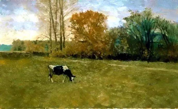 风景油画 俄罗斯画家莫克申·尤里插图31