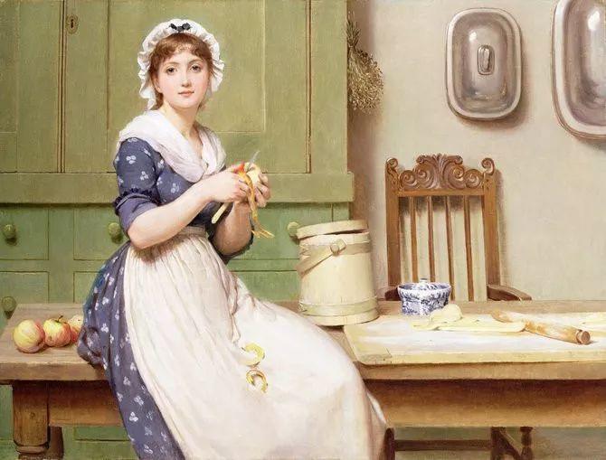 轻柔美丽的色彩,描绘女子各阶段时的样子插图1