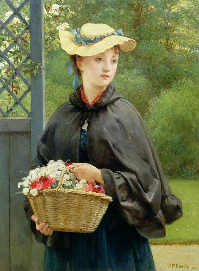 轻柔美丽的色彩,描绘女子各阶段时的样子插图3