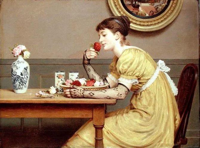 轻柔美丽的色彩,描绘女子各阶段时的样子插图4