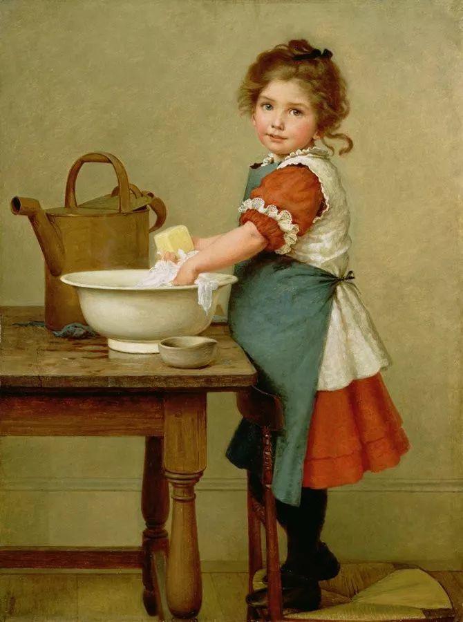 轻柔美丽的色彩,描绘女子各阶段时的样子插图5