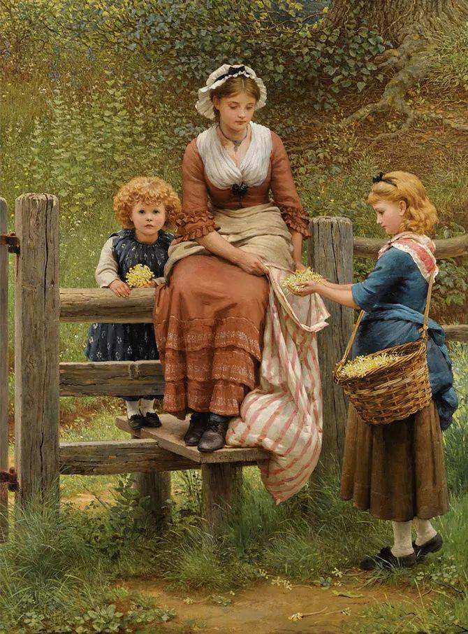 轻柔美丽的色彩,描绘女子各阶段时的样子插图6