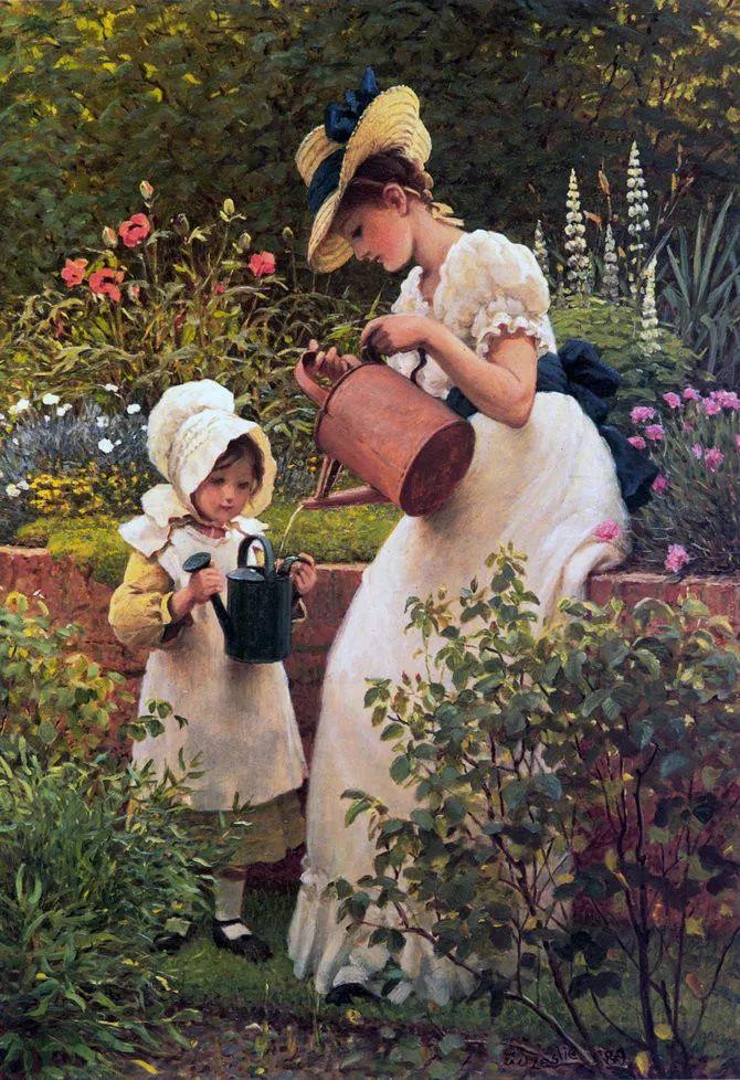 轻柔美丽的色彩,描绘女子各阶段时的样子插图7