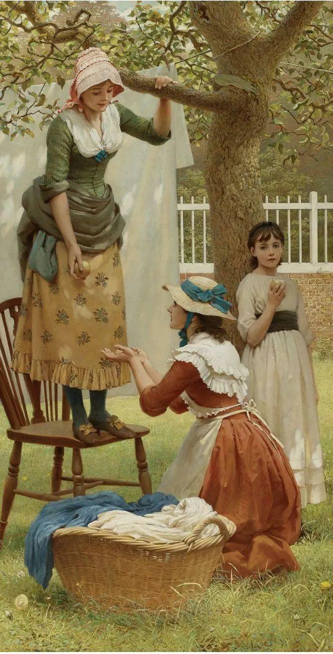 轻柔美丽的色彩,描绘女子各阶段时的样子插图9