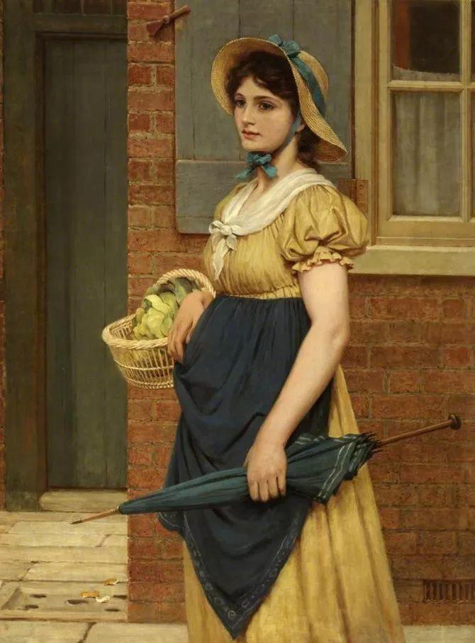 轻柔美丽的色彩,描绘女子各阶段时的样子插图10