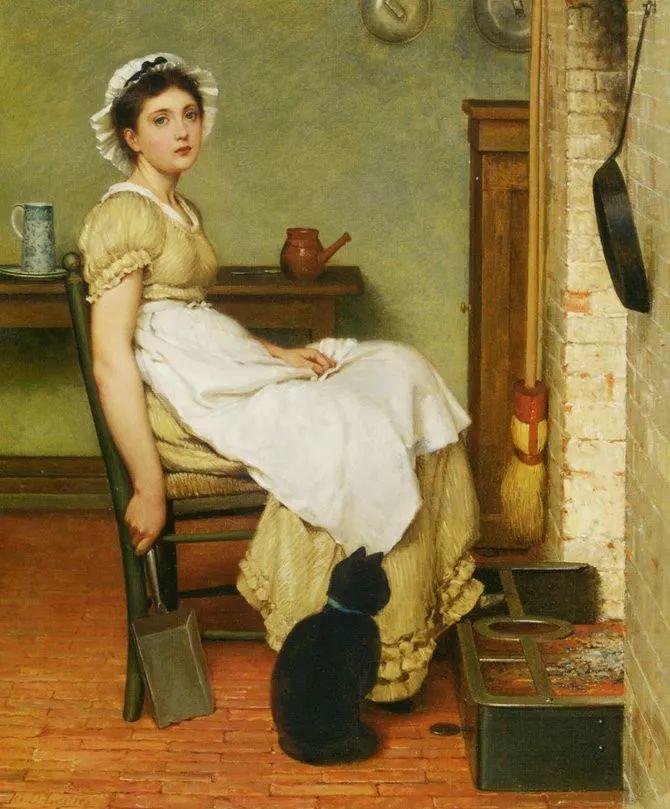 轻柔美丽的色彩,描绘女子各阶段时的样子插图14