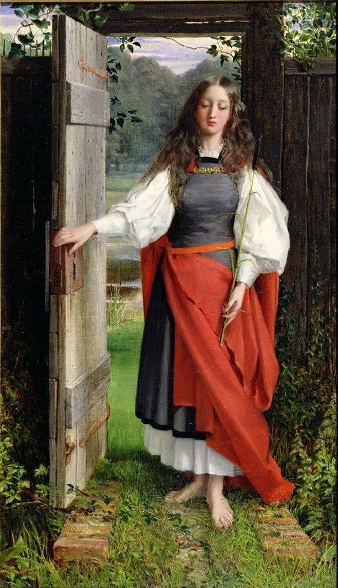 轻柔美丽的色彩,描绘女子各阶段时的样子插图19