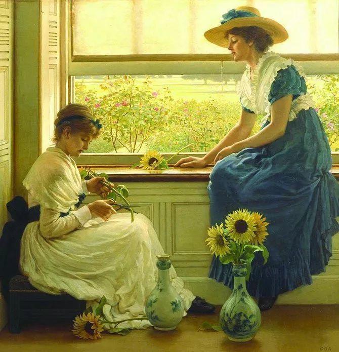 轻柔美丽的色彩,描绘女子各阶段时的样子插图29