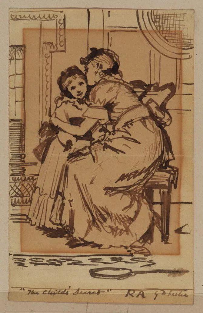 轻柔美丽的色彩,描绘女子各阶段时的样子插图33