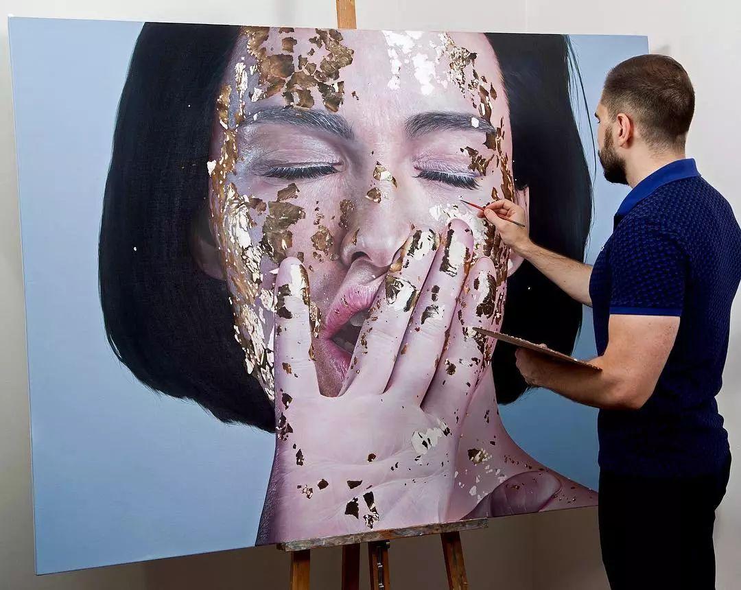 他画了一波美人,笔触精致,活色生香~插图3