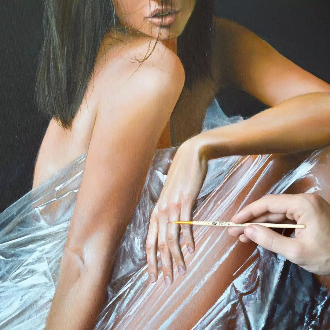 他画了一波美人,笔触精致,活色生香~插图47
