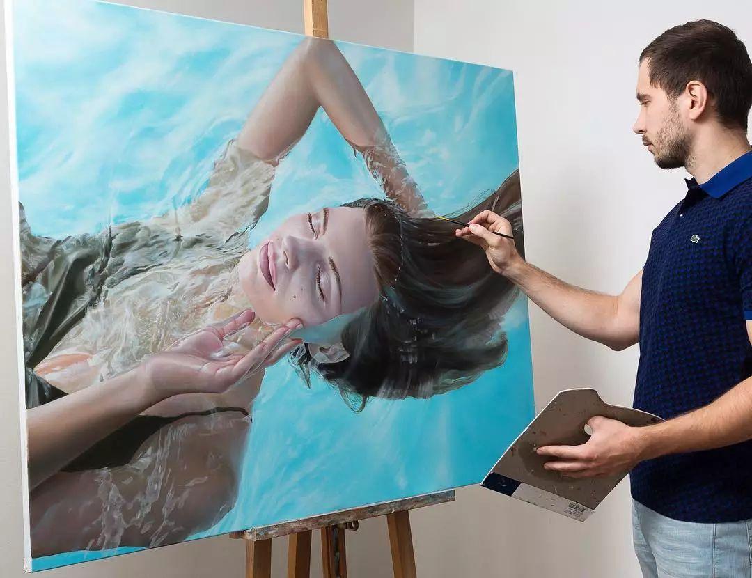 他画了一波美人,笔触精致,活色生香~插图69