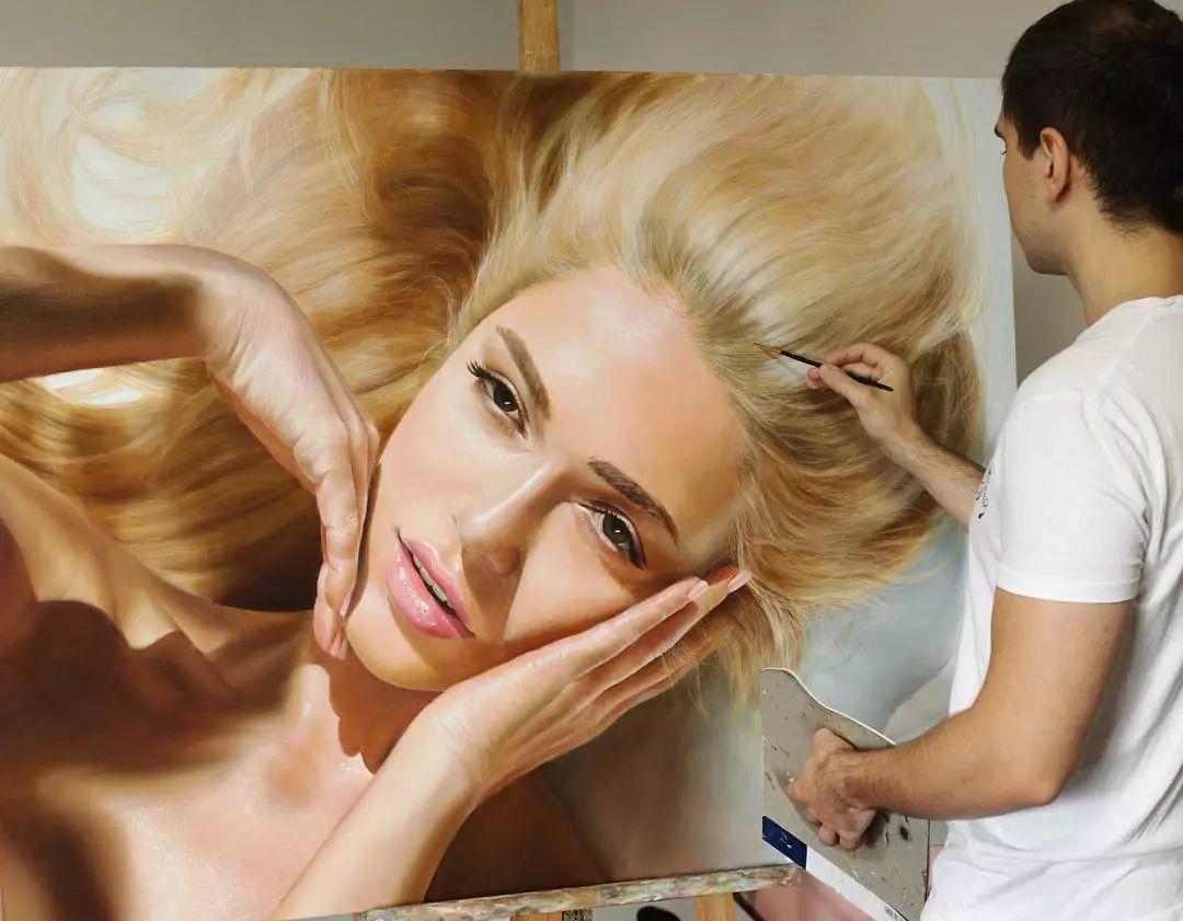 他画了一波美人,笔触精致,活色生香~插图75