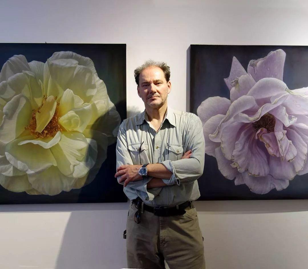 他用一块画布,就能将其变成一个露珠覆盖的玫瑰花园插图74