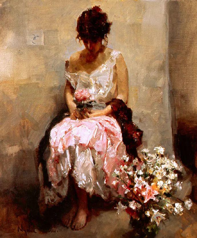 女性人物作品 西班牙女画家Nydia Lozano插图16
