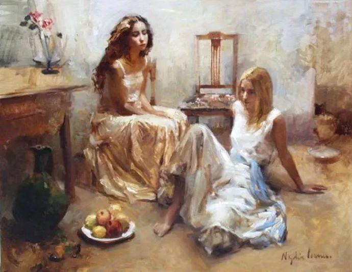 女性人物作品 西班牙女画家Nydia Lozano插图21