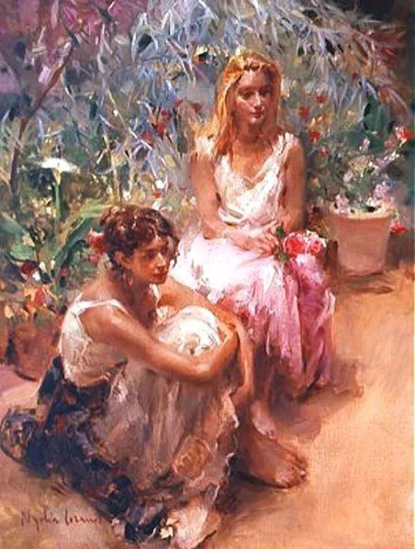 女性人物作品 西班牙女画家Nydia Lozano插图23