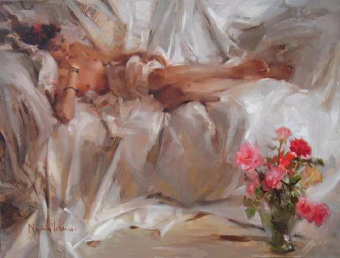 女性人物作品 西班牙女画家Nydia Lozano插图26