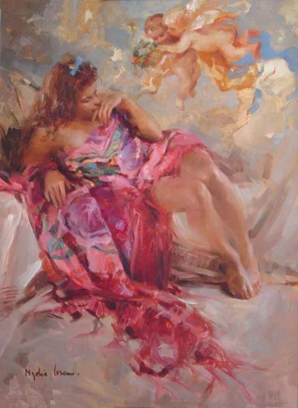 女性人物作品 西班牙女画家Nydia Lozano插图34