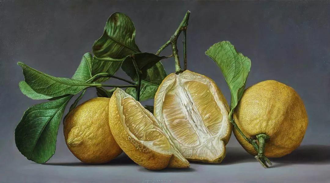 超写实静物 意大利画家Gioacchino Passini 二插图1