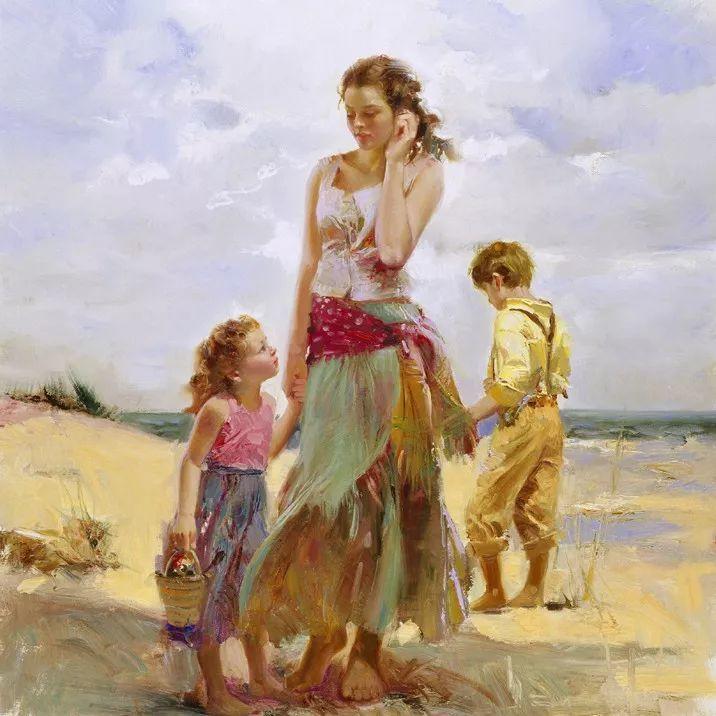 对家庭的爱,微妙简单的表达,扣人心弦的颜色插图5