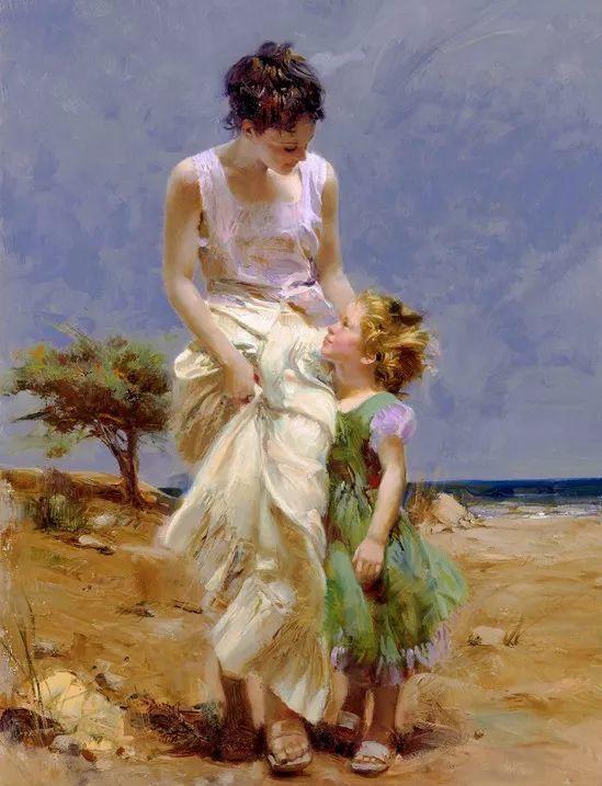 对家庭的爱,微妙简单的表达,扣人心弦的颜色插图7