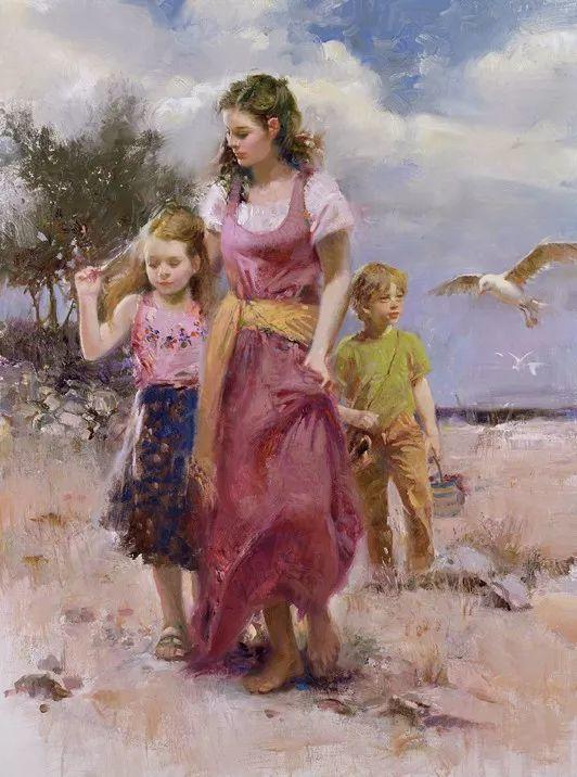 对家庭的爱,微妙简单的表达,扣人心弦的颜色插图13