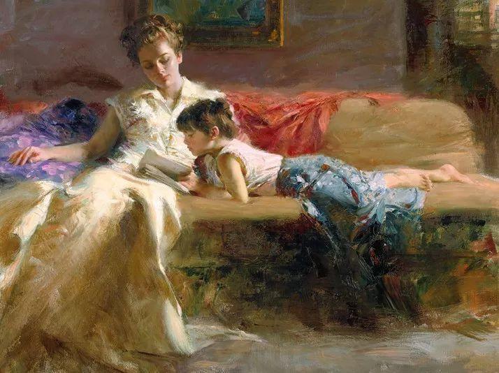 对家庭的爱,微妙简单的表达,扣人心弦的颜色插图19