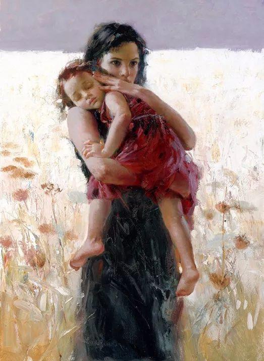 对家庭的爱,微妙简单的表达,扣人心弦的颜色插图25