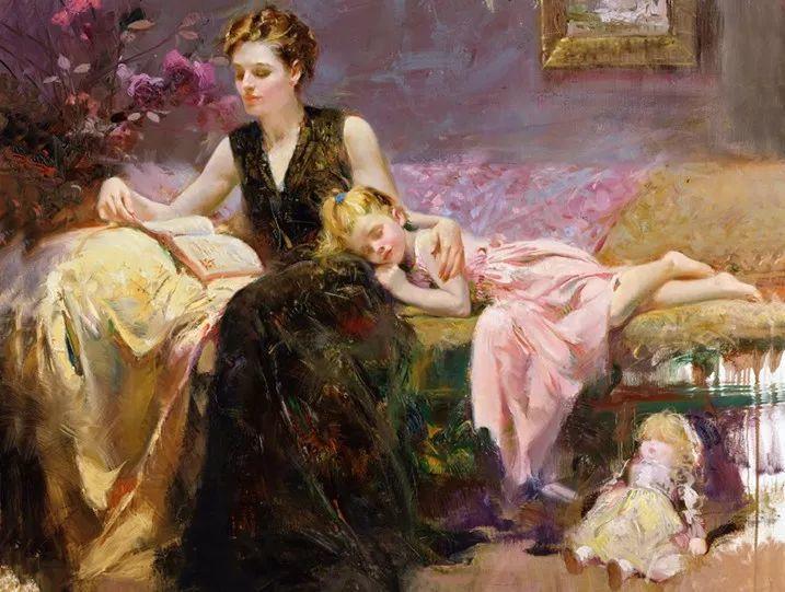 对家庭的爱,微妙简单的表达,扣人心弦的颜色插图29