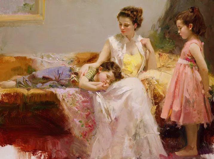 对家庭的爱,微妙简单的表达,扣人心弦的颜色插图35