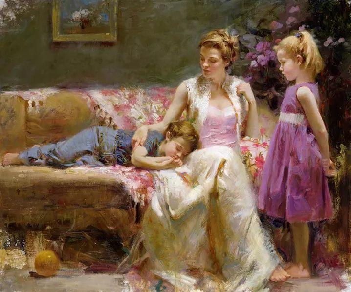 对家庭的爱,微妙简单的表达,扣人心弦的颜色插图37