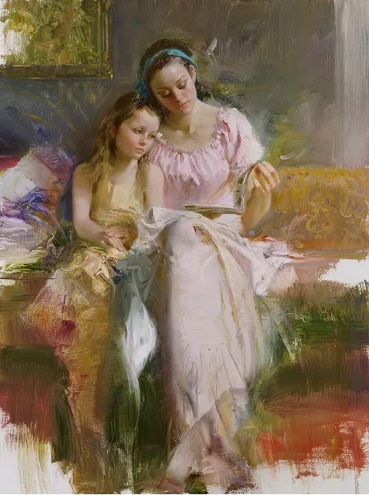 对家庭的爱,微妙简单的表达,扣人心弦的颜色插图45