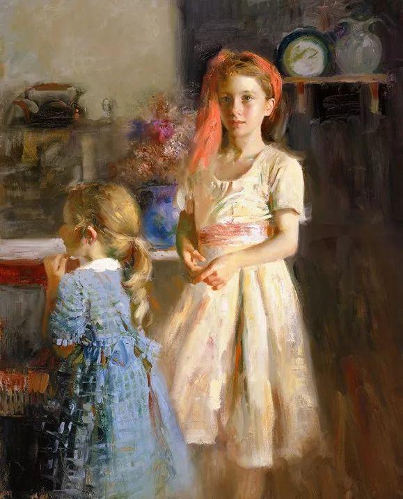 对家庭的爱,微妙简单的表达,扣人心弦的颜色插图47
