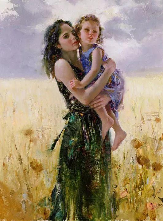 对家庭的爱,微妙简单的表达,扣人心弦的颜色插图51