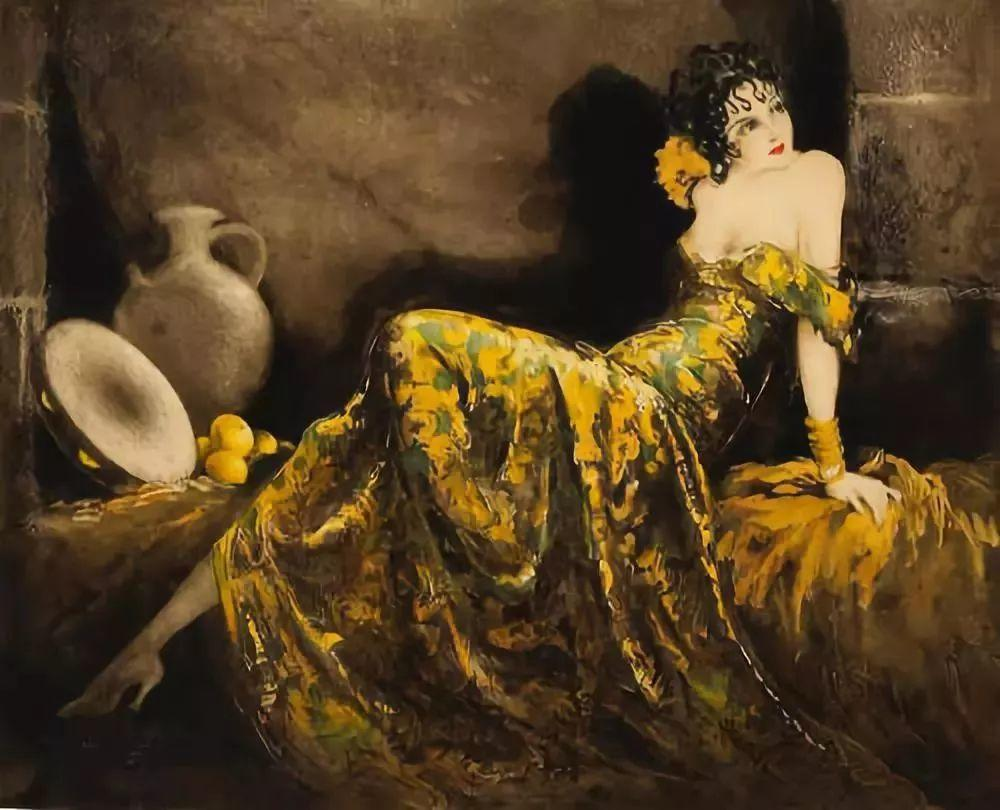 妻子是他一生艺术的灵感源泉 法国画家Louis Icart插图1