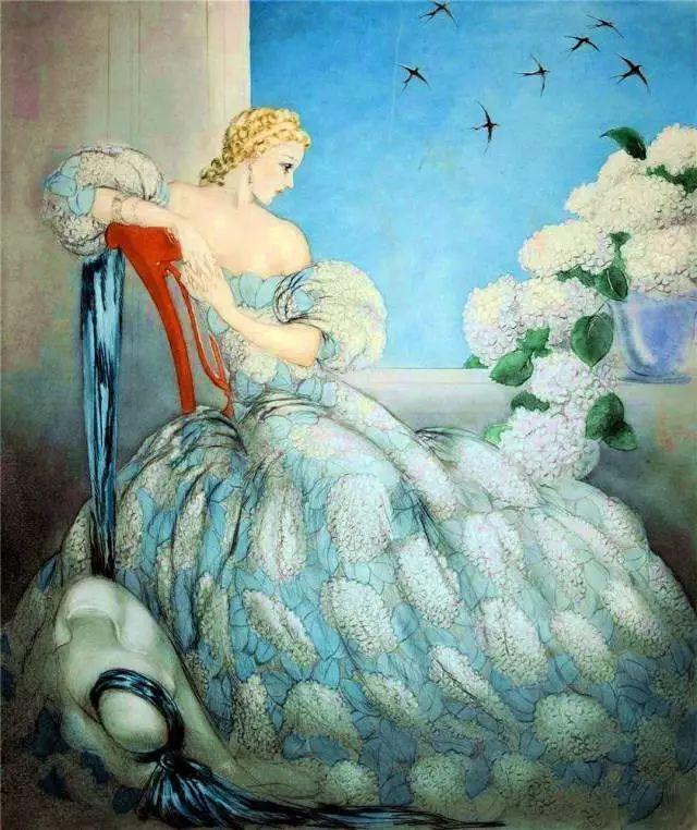 妻子是他一生艺术的灵感源泉 法国画家Louis Icart插图3