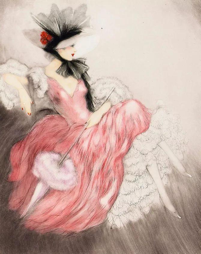 妻子是他一生艺术的灵感源泉 法国画家Louis Icart插图7