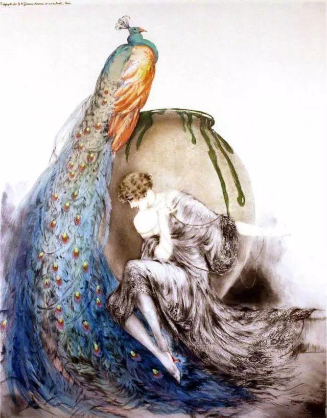 妻子是他一生艺术的灵感源泉 法国画家Louis Icart插图11