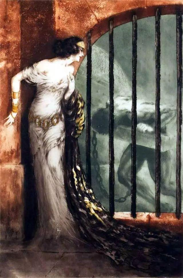 妻子是他一生艺术的灵感源泉 法国画家Louis Icart插图13