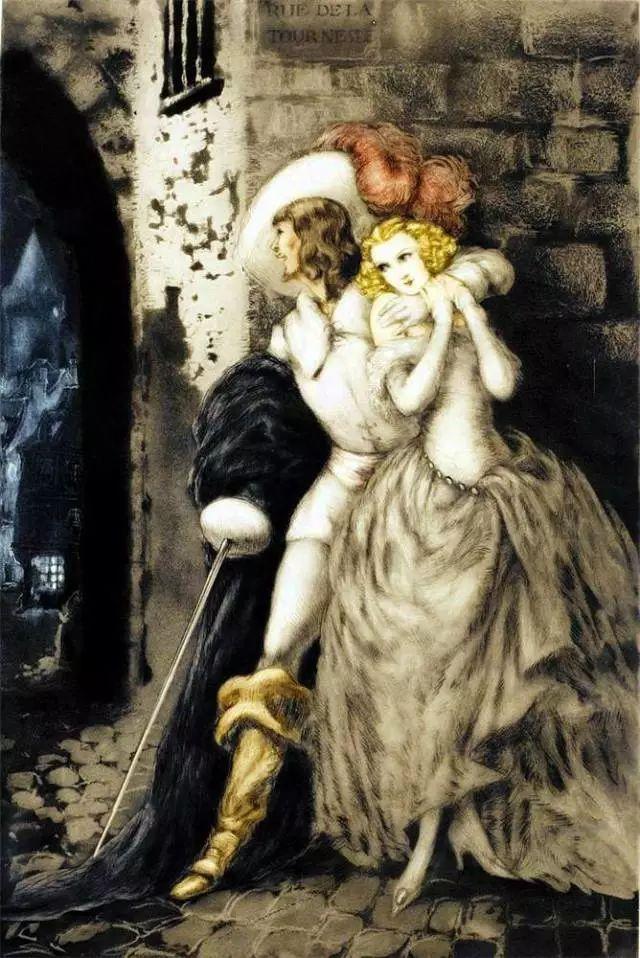 妻子是他一生艺术的灵感源泉 法国画家Louis Icart插图15